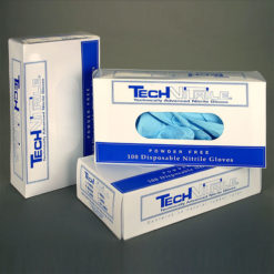 Class 100 Cleanroom Nitrile Gloves PVC Boxed