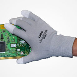 ESD Assembly Inspection Glove - Continuous stretch nylon & carbon filament fibers