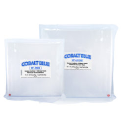 Cobalt Blue Dry Sterile Wipes for Pharma & Cleanroom Applications